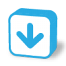 96x96px size png icon of button arrow down