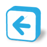 96x96px size png icon of button arrow left