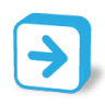 96x96px size png icon of button arrow right