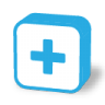 96x96px size png icon of button plus