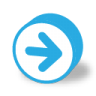 96x96px size png icon of button round arrow right