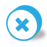 96x96px size png icon of button round cancel