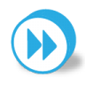 96x96px size png icon of button round fast forward