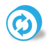 96x96px size png icon of button round reload