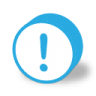 96x96px size png icon of button round warning