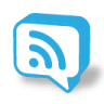96x96px size png icon of chat rss