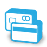 96x96px size png icon of credit cards