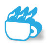 96x96px size png icon of java coffee
