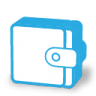 96x96px size png icon of money wallet