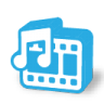 96x96px size png icon of movie music