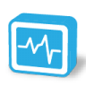 96x96px size png icon of stat monitor