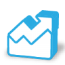 96x96px size png icon of stats way up