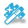 96x96px size png icon of wand
