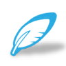 96x96px size png icon of write feather