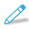 96x96px size png icon of write pencil
