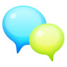 96x96px size png icon of Support Bubble 3