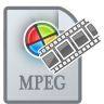 96x96px size png icon of MovieTypeMPEG