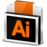96x96px size png icon of File Adobe Illustrator