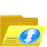 96x96px size png icon of open torrent folder