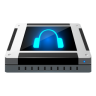 96x96px size png icon of dev audio cd