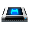 96x96px size png icon of dev floppy