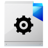 96x96px size png icon of document configuration settings