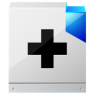 96x96px size png icon of document help and support