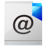96x96px size png icon of document mail