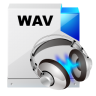 96x96px size png icon of filetype wav sound