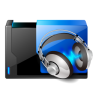 96x96px size png icon of folder music share