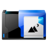 96x96px size png icon of folder pictures share