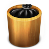 96x96px size png icon of Trash Wood Full