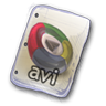 96x96px size png icon of Filetype avi