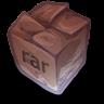 96x96px size png icon of Filetype rar