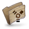 96x96px size png icon of Folder Firewire