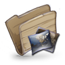 96x96px size png icon of Folder Pictures Folder