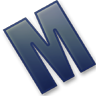 96x96px size png icon of Letter M