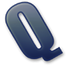96x96px size png icon of Letter Q