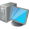 96x96px size png icon of 1 Normal Computer