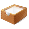 96x96px size png icon of 1 Normal Paper Box