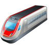 96x96px size png icon of 1 Normal Train