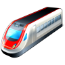 96x96px size png icon of 2 Hot Train