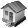 96x96px size png icon of 3 Gray Home