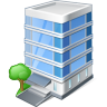 96x96px size png icon of office building