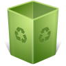 96x96px size png icon of Recycle Bin Empty