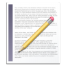 96x96px size png icon of Text Document