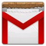 96x96px size png icon of gmail opened