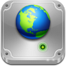 96x96px size png icon of network drive online