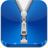 96x96px size png icon of zip file