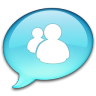 96x96px size png icon of Windows Live Messenger